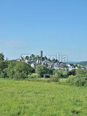 holiday-destination-hartenfels-in-wester-forest-near-selters-67628974-aluminium-dibond-80-x-110-cm