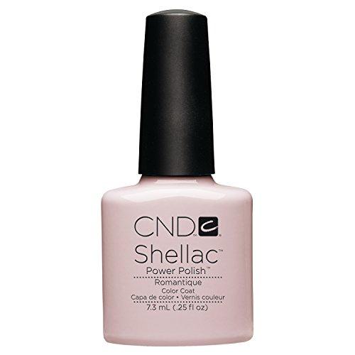 CND CNDS0059 - Esmalte de Uñas de Gel, Tono Romantique, color rosa