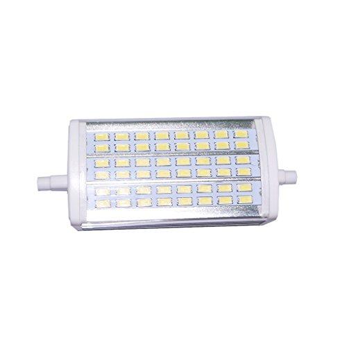 MagiDeal R7S 118mm Halogenglühlampen 4W, 48 Stück 5630 LED-Glühbirnen J-Typ Doppelendig - Weiß - J Glühbirne Typ
