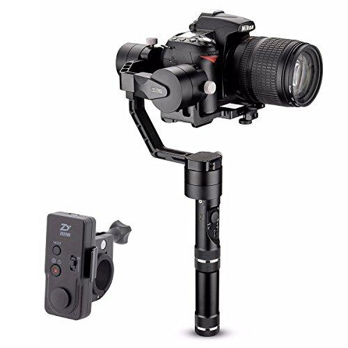 Zhiyun Crane V2 (wireless telecomando + 4pcs batterie) 3 assi brushless palmare Gimbal stabilizzatore per DSLR Sony A7 Series/Panasonic Lumix Series/Canon Nikon serie J m Series