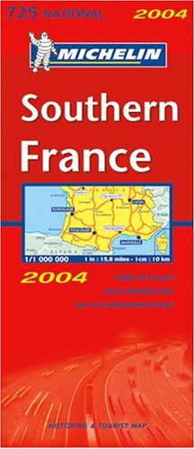 Carte routière : France Sud, N°11725