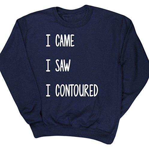 hippowarehouse-i-came-i-saw-i-contoured-unisex-jumper-sweatshirt-pullover