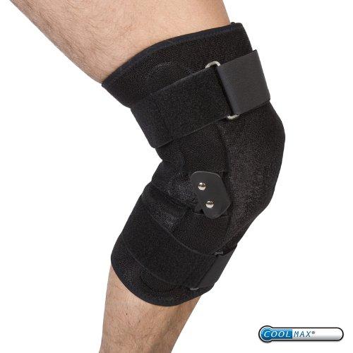 PhysioRoom Elite Hinged Knee Brace - Support Rehabilitation Adjustable
