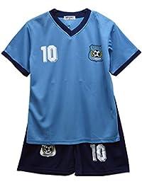 b0b6b1193 Default Football Summer Shorts Boys New Girls Top Vest Kit Set Size Age 2-12