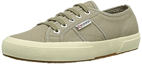 Superga 2750 Cotu Classic, Sneakers Basses mixte adulte-Beige - Braun (Mushroom C26) -37.5 EU