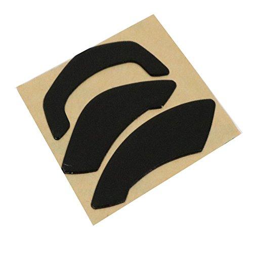 Feicuan Ersatzfüße Teflon Mausfüße Skates Pad Slider für Gaming Maus SteelSeries Pandaman/Wow/Wireless MMO (0.6mm,Pack of 2)