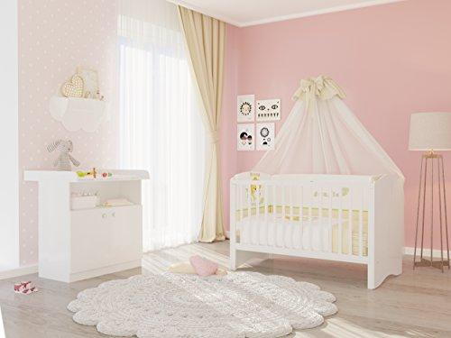Polini Kids Kinderzimmer Set Babybett Kinderbett Kombi-Kinderbett, gebraucht gebraucht kaufen  Wird an jeden Ort in Deutschland