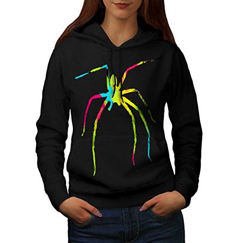 vibrant-couleur-araign-e-tape-a-loeil-femme-nouveau-noir-l-capuchon-wellcoda