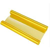 SKS Distribution® - Vinilo para faros de coche, autoadhesivo, impermeable, 100 x 30cm, color dorado