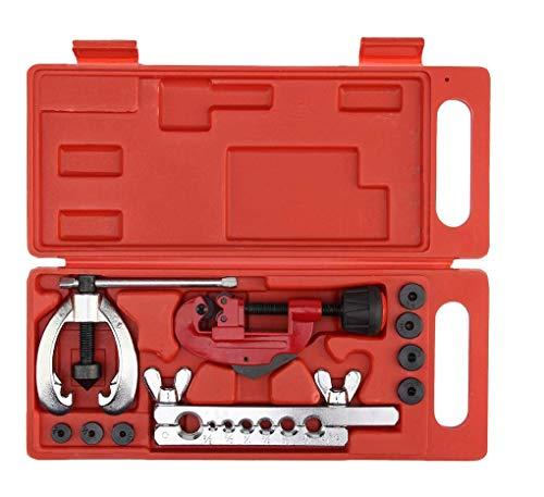 Hycy Kupfer Brake Fuel Rohr Reparatur Double Abfackeln Stirbt Tool Set Clamp Kit Rohr Cutter