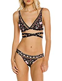 Ropa de Baño Mujer Bikini Push Up Tanga Trajes De Una Pieza Bikinis Mujeres Verano Bikini Push-Up Acolchado Sujetador Bañador Traje De…