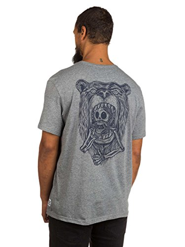 Herren T-Shirt Element Attack T-Shirt Grey Heather