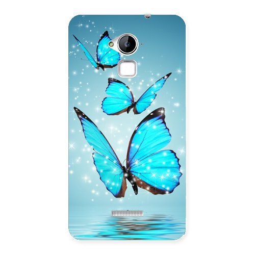 Clapcart Butterflies Design Printed Mobile Back Cover Case For Coolpad Note 3 / Coolpad Note 3 Plus – Multicolor