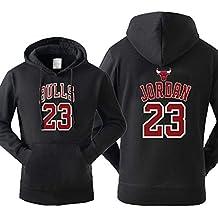 meet 1a231 a0dbb Homme Jordan Sweats à capuche Bulls Imprimé Sweat-shirt