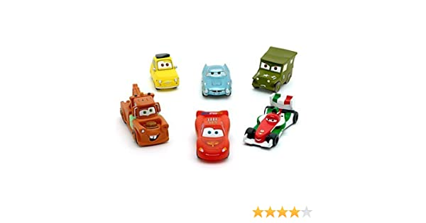 Disney Store Pixar Cars Bath Toy Set