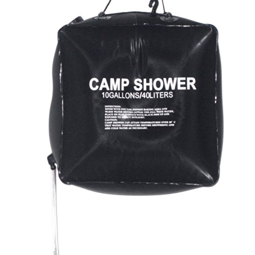on Camping Wandern Solaranlage für warmes Camp Shower Bag Outdoor Shower Wasserbeutel (Dusche Bag)