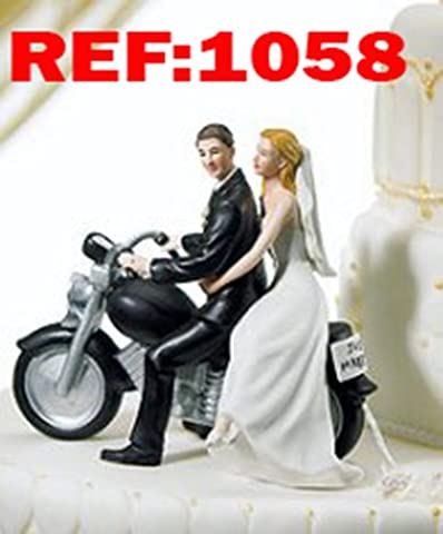 Lovely Bride & Groom Wedding Cake Toppers Figure Bakeware Cake Accessory Centrepiece (1058)
