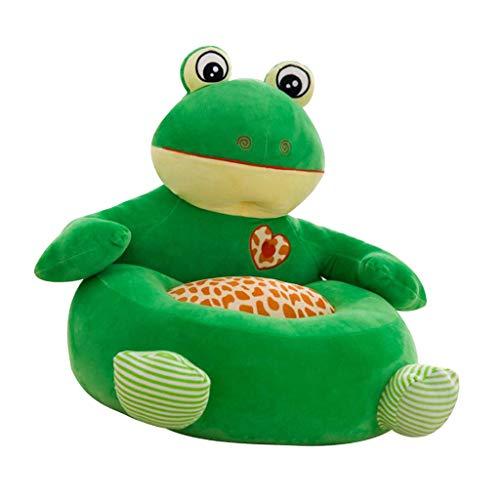 F Fityle Kinder Tiere Sitzsackhülle Sitzsack Sitzkissen Sitzsäcke für Kinderzimmer Wohnzimmer - Frosch