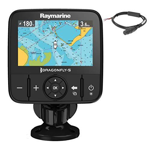 Raymarine E70295 Dragonfly-5M GPS-Kartenplotter ohne Karte 12,7 cm (5 Zoll)