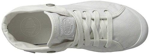 Palladium Aventure, Sneakers Basses Femme Blanc (White/white/cubic Print)