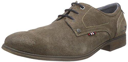Tom Tailor 9680901, Chaussures Lacées Homme Marron (Sand)
