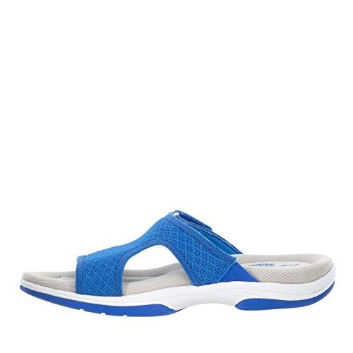 Easy Street Garbo Damen Breit Maschenweite Sandale Blue