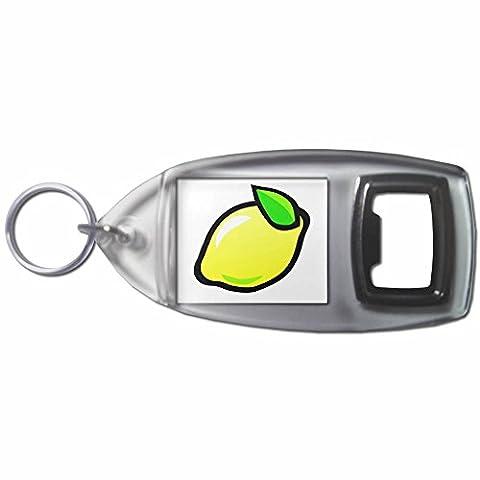 Fruit Machine Lemon - Bouteilles en plastique Ouvre Porte-clés