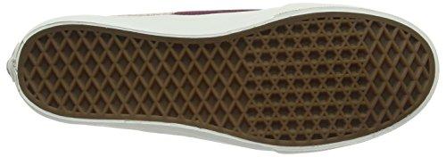 Vans U Sk8-Hi Decon Overwashed, Sneaker uomo Black (Stripes - Washed/Tawny Port)