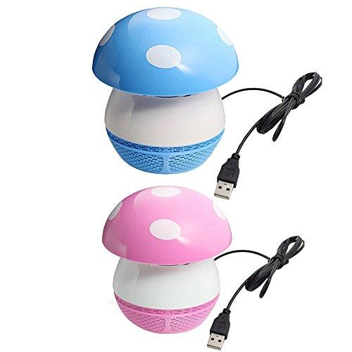 Gosear® Ménage USB Rechargeable LED Électronique Lampe Anti-Moustique