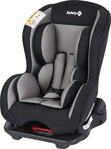 Safety 1st 8015652000 Safety 1st Kindersitz Sweet Safe, sicherer Autositz der Gruppe 0/1 (0-18 kg, nutzbar bis ca. 4 Jahre), hot grey (grau), grau