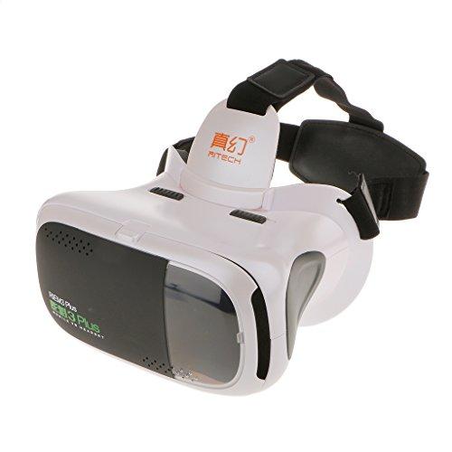 RITech-Riem-3-Montar-La-Cabeza-360-Grados-De-Realidad-Virtual-Vr-Gafas-3d-Blanco