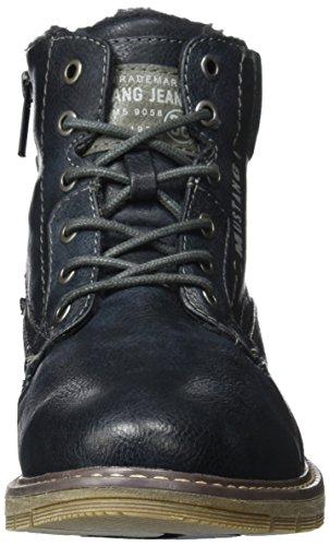 Mustang Men 4105-606 Classic Boots Blu (navy)