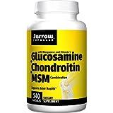 Jarrow Formulas, Glucosamine + Chondroïtine + Combinaison de MSM, 240 capsules