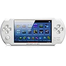 Gadget-Wagon ECO-1 8 GB 4.3 Inches With FM Radio & 1.3 MP Camera (W) 8 GB With Contra, Mario, 10000 Games Inbuilt(White)