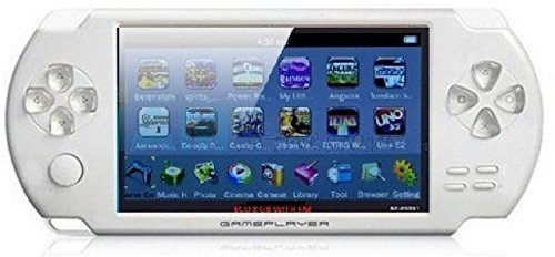 Gadget-Wagon ECO-1 8 GB 4.3 Inches With FM Radio & 1.3 MP Camera (W) 8 GB With Contra, Mario, 10000 Games Inbuilt (White)