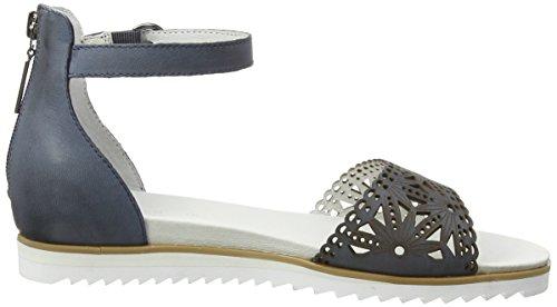 GERRY WEBER Bianca 04, Sandales ouvertes femme Bleu - Blau (jeans 506)