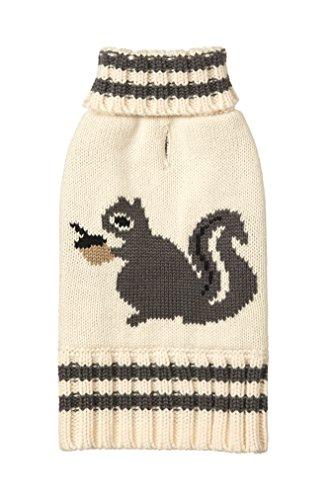 FAB Hund Knit Rollkragen Hund Pullover Eichhörnchen -