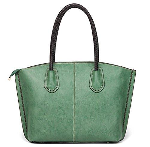 Borsa A Spalla Da Donna Grande Moda Designer Borse Per Donna Verde