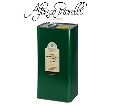 Alfonso priorelli - olio di oliva extra vergine dop umbria colli assisi e spoleto - 5 l