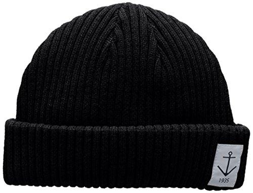 Resteröds Herren Smula Hat Strickmütze, Schwarz (Black 9), One Size