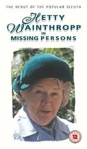 Hetty Wainthropp: Missing Persons [VHS]