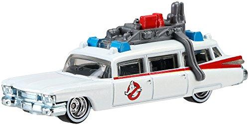 Ghostbusters Ecto-1 in 1:64 Hot Wheels DJF42 Retro - Hot Wheels-ecto 1