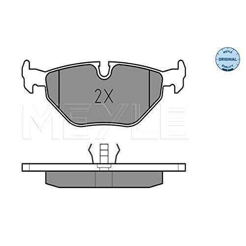 Meyle 025 209 9517 Kit de plaquettes de frein, frein à disque