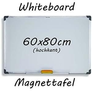 60x80 Cm Hochkant Whiteboard Magnettafel Schreibttafel