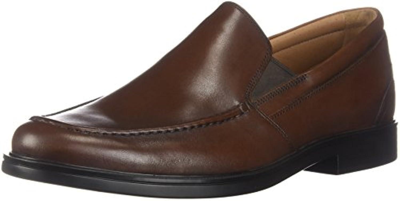 Clarks Un Aldric Slip Mens Loafers Dark Tan Leather 11.5 | Vinto altamente stimato e ampiamente fidato in patria e all'estero  | Sig/Sig Ra Scarpa