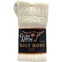 Luxuriöse, schottische Kilt-Schlauch-Socken aus Wolle preisvergleich bei billige-tabletten.eu