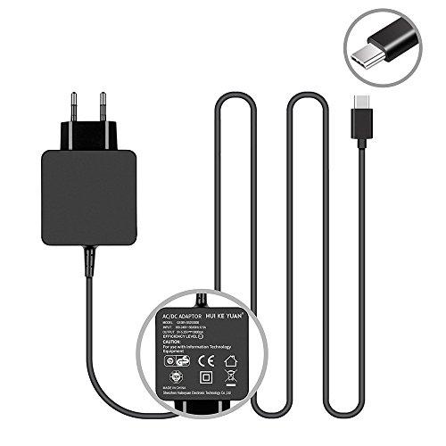 TUV GS HKY 5V 3A USB C / USB Typ C Schnellladegerät Netzteil Ladegerät Kabel Smartphone Ladekabel für Nintendo Switch, Samsung S8 & Plus / HTC U11, 10 & Evo / LG G5 & G6