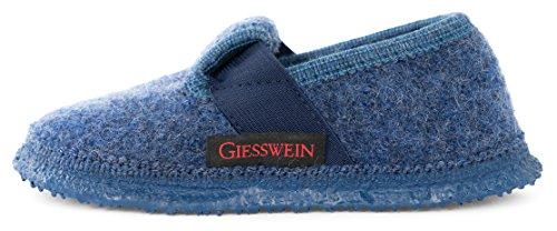 Giesswein Türnberg, Jungen Flache Hausschuhe, Blau (527/jeans), 33 EU