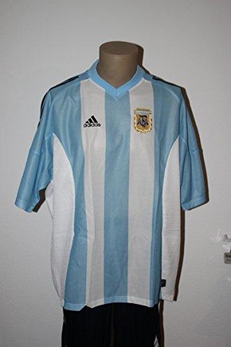 Adidas Trikot Argentinien Home WM 2002 - Größe 2XL (Trikot Home Argentinien)