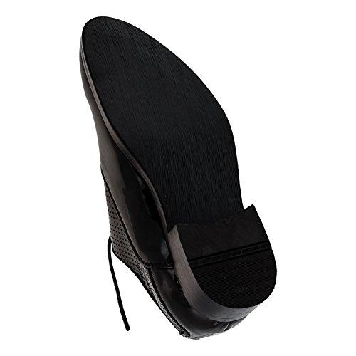 Mikelo , Chaussures de ville à lacets pour garçon #200sw Glanz